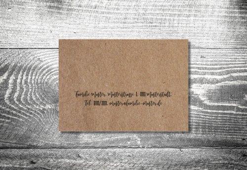 Kraftpapier   4-Seitig