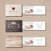 kartlerei bayrische geburtskarten baby kind karten drucken gestalten - Geburtskarten auf Bayrisch