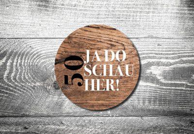 kartlerei bierdeckel drucken bayern bayrisch einladungskarten da schaugst 400x275 - Geburtstagseinladung auf Bayrisch