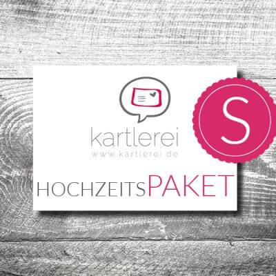 kartlerei karten drucken hochzeitskarten hochzeitspaket 400x400 - Hochzeit  Hochzeitspaket S