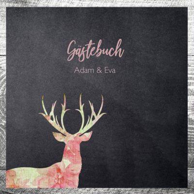 Gästebuch Leinenhirsch