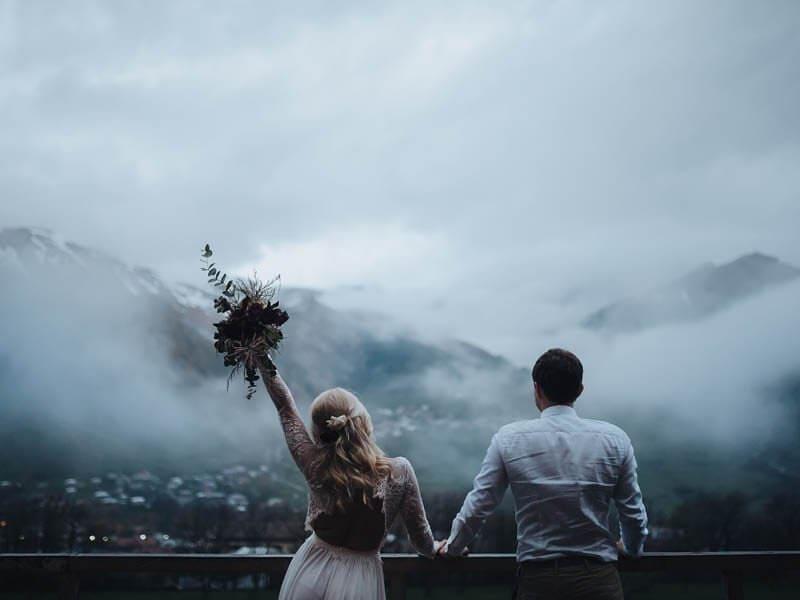 kartlerei hochzeit heiraten in den bergen berghochzeit sommerhochzeit winterhochzeit - kartlerei Magazin