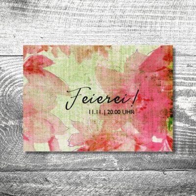 Blumenleinen | 2-Seitig