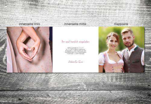 Hochzeit Hirschkranz | 6-Seitig