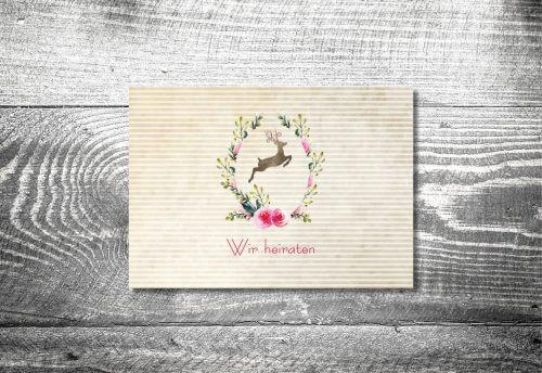 Hochzeit Hirschkranz | 4-Seitig