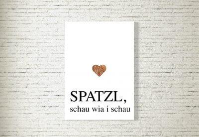 kartlerei poster shop bilder drucken bayrischer spruch bayrisch23 400x275 - Poster und Bilder von kartlerei