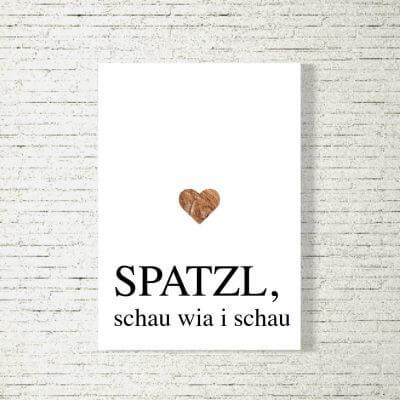 kartlerei poster shop bilder drucken bayrischer spruch bayrisch23 400x400 - Poster und Bilder