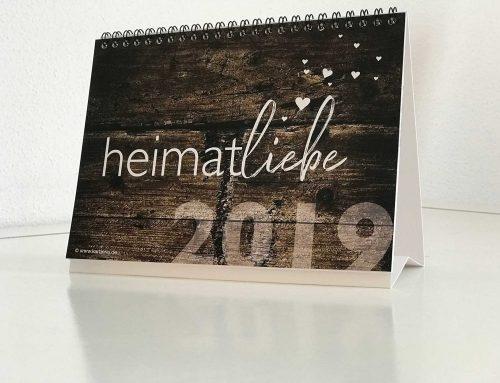 Bayrischer Kalender | heimatliebe 2019 | Tischkalender