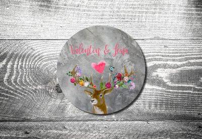 kartlerei bierdeckel drucken hochzeit save the date einladungskarte tischdeko bayrische hochzeit heiraten in tracht5 400x275 - Bierdeckel ABC