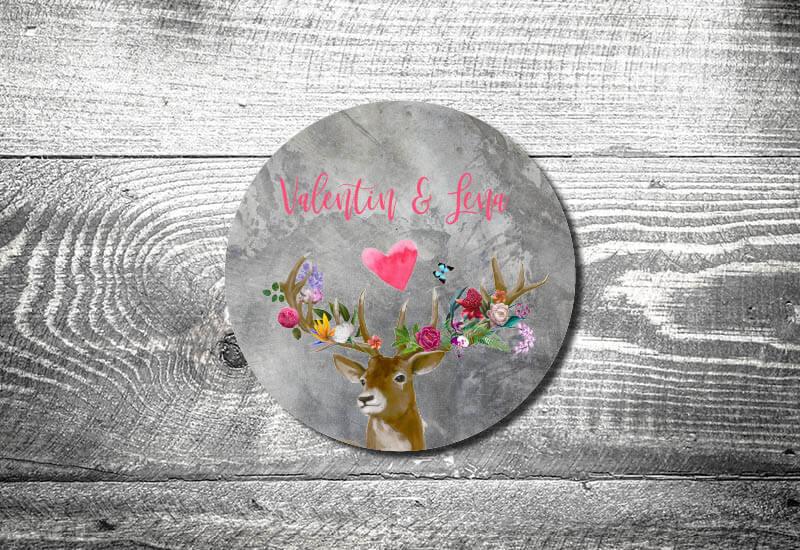 kartlerei bierdeckel drucken hochzeit save the date einladungskarte tischdeko bayrische hochzeit heiraten in tracht5 - Hochzeitskarten