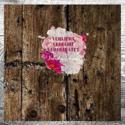 Gästebuch Verliebt Verlobt Verheiratet | ab 55,00 €