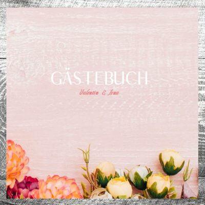 Gästebuch Romantik Rosa | ab 55,00 €