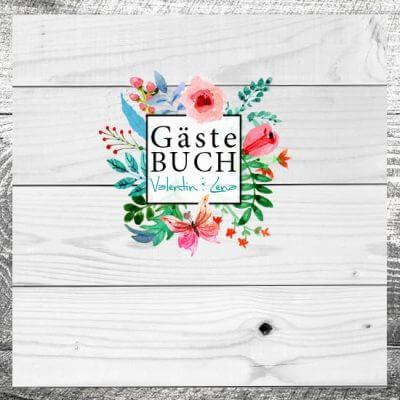 Gästebuch Blumenliebe