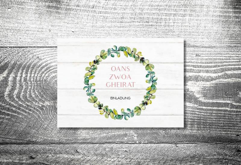 kartlerei karten drucken hochzeitseinladung heiraten bayrisch trachtenhochzeit bayrisches vintage4 - Hochzeitscountdown Freebie