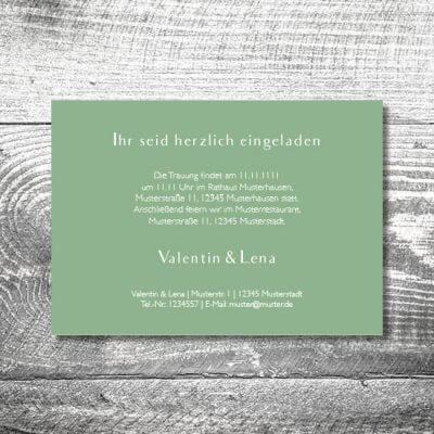 Hochzeit Bayrisches Vintage | 2-Seitig