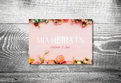 kartlerei karten drucken hochzeitseinladung heiraten bayrisch trachtenhochzeit romantik4 400x275 - Trachtenhochzeit