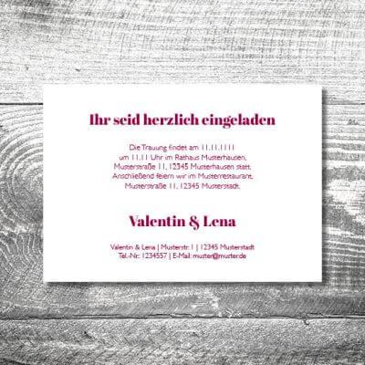 Hochzeit Verliebt Verlobt Verheiratet | 2-Seitig  | ab 0,70 €