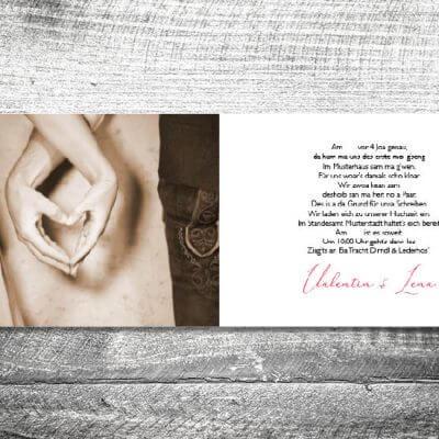 Hochzeit Trachtenhochzeit | 4-Seitig | ab 1,00 €
