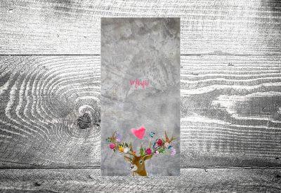 kartlerei karten drucken menuekarten heiraten bayrisch trachtenhochzeit 11 400x275 - Bierdeckel drucken als Menükarte Hochzeit
