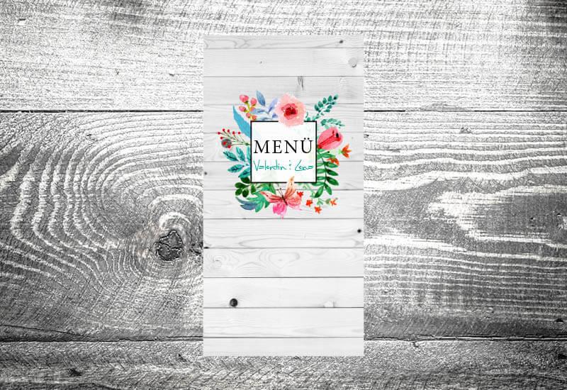 kartlerei karten drucken menuekarten heiraten bayrisch trachtenhochzeit 15 - Hochzeitskarten