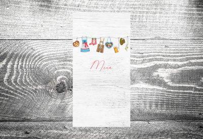 kartlerei karten drucken menuekarten heiraten bayrisch trachtenhochzeit 3 400x275 - Bierdeckel drucken als Menükarte Hochzeit