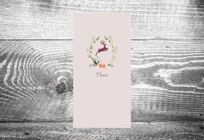 kartlerei karten drucken menuekarten heiraten bayrisch trachtenhochzeit hirschkranz 400x275 - Bierdeckel drucken als Menükarte Hochzeit