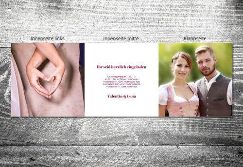 Hochzeit Verliebt Verlobt Verheiratet | 6-Seitig | ab 1,90 €