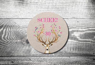 kartlerei bierdeckel einladung geburtstag bayrisch drucken gestalten 400x275 - Geburtstagseinladung auf Bayrisch