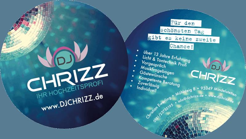djchrizz bierdeckel kartlerei dj bayern oesterreich dj event - Inspirationen & Partner