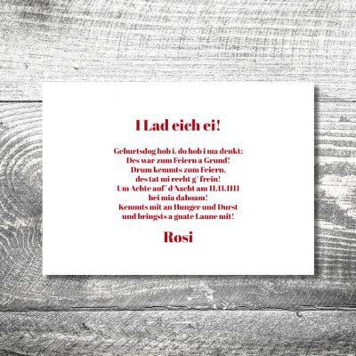 Rotes Herzl | 2-Seitig | ab 0,70 €