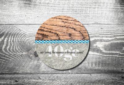 kartlerei bierdeckel bayrische einladung geburtstagseinladung so jung kemma nimma zam 400x275 - Bierdeckel ABC