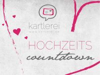 kartlerei hochzeitscountdown freebie download - Hochzeitscountdown Freebie