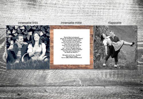 Hochzeit Bergliebe | 6-Seitig