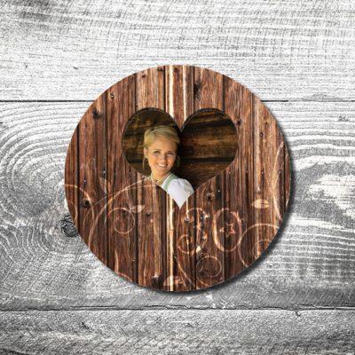 Bierdeckel Holzvintage