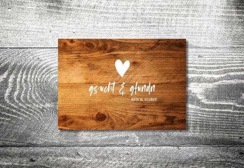 Hochzeit Gsucht Gfundn | 4-Seitig