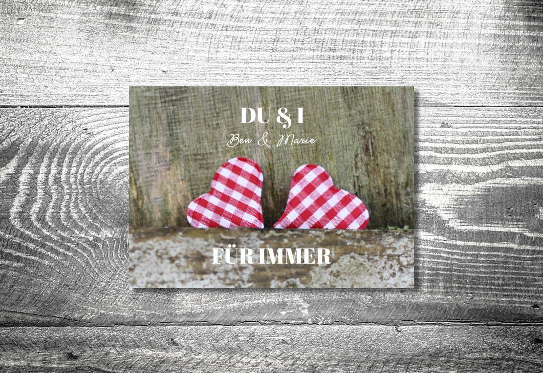 kartlerei einladung hochzeit bayrisch hochzeitseinladung bayrische hochzeitspapeterie karoherzchen einladung - Hochzeitskarten Set