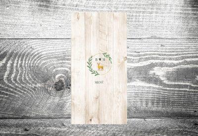 kartlerei hochzeit menuekarte bayrische papeterie913 400x275 - Bierdeckel drucken als Menükarte Hochzeit