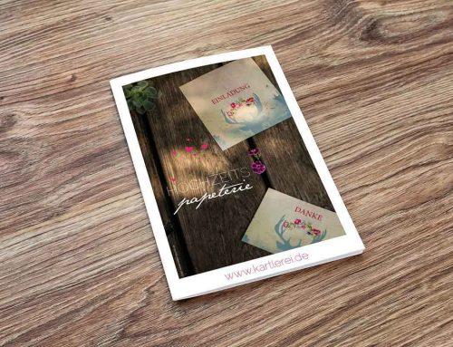 Hochzeitspapeterie – Farbkonzepte – Interview