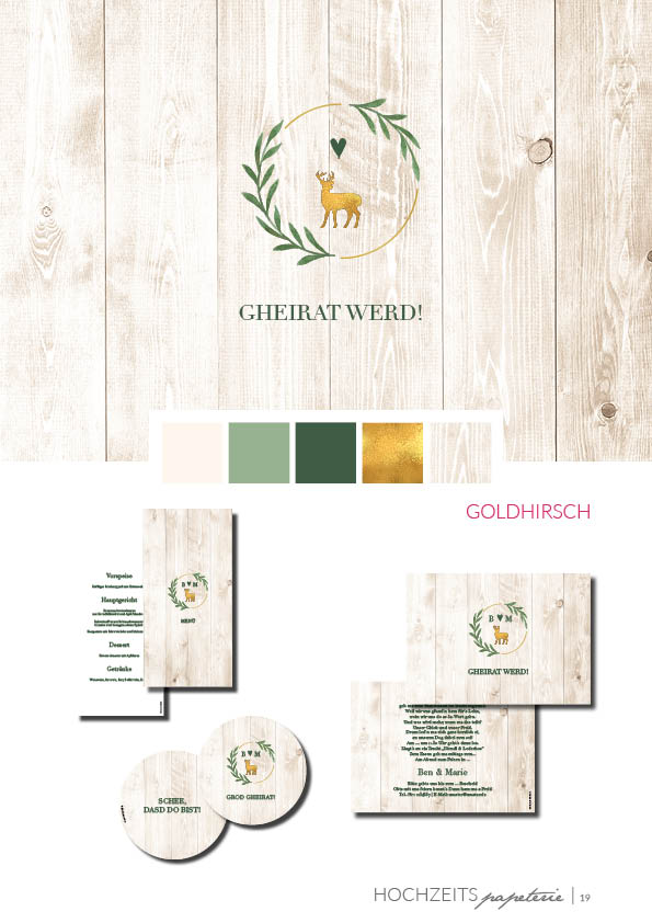kartlerei bayrische hochzeitspapeterie einladungskarten hochzeit farbkonzept19 - Hochzeitspapeterie – Farbkonzepte – Interview