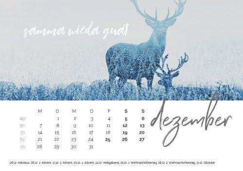 Bayrischer Kalender | heimatliebe 2020 | 14,50 €