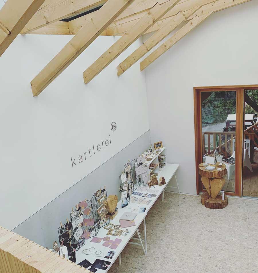 kartlerei landlmuehle stephanskirchen rosenheim showroom hochzeitspapeterie - Messen, Märkte & Ausstellungen