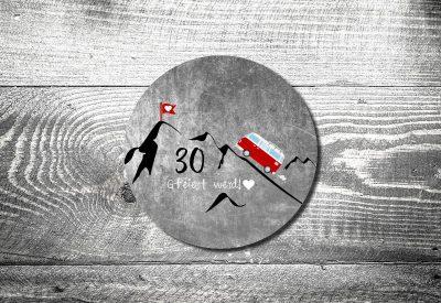 kartlerei bayrische einladungskarten bierdeckel geburtstagseinladung busliebe retrobus foto rosi 400x275 - Bierdeckel ABC