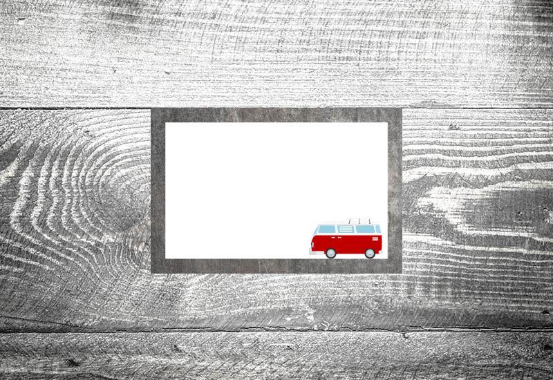 kartlerei hochzeit tischkarten bus liebe tischkarten foto rosi - Foto Rosi Retro Fotobox