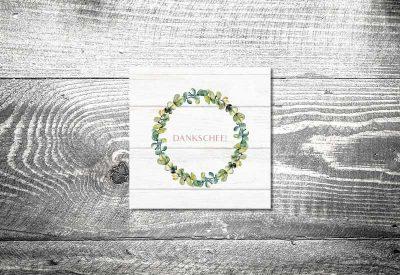 kartlerei bayrische dankeskarten hochzeit leporello klappkarte bayrisches vintage 400x275 - Dankeskarte mit Fotostreifen