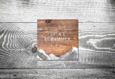 kartlerei bayrische dankeskarten hochzeit leporello klappkarte bergliebe 2 400x275 - Dankeskarte mit Fotostreifen