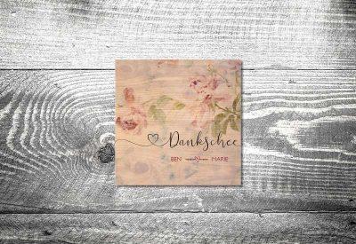 kartlerei bayrische dankeskarten hochzeit leporello klappkarte floralholz 400x275 - Dankeskarte mit Fotostreifen