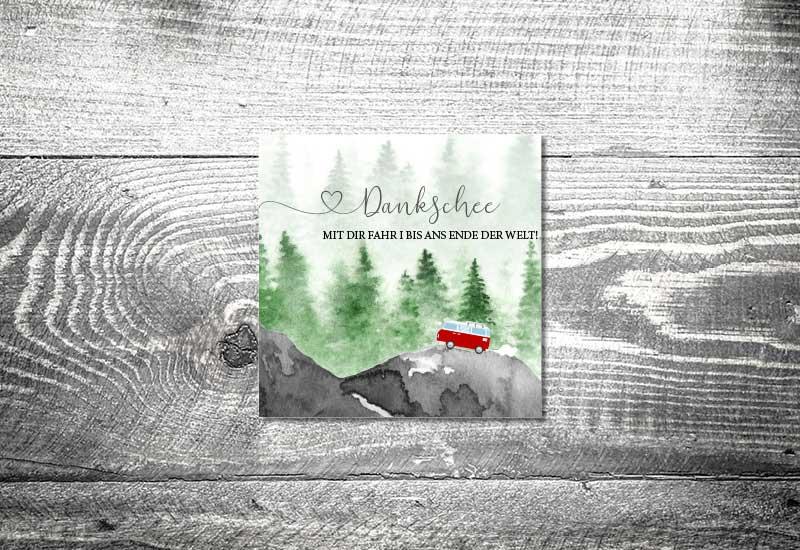 kartlerei bayrische dankeskarten hochzeit leporello klappkarte foto rosi 2 - Foto Rosi Retro Fotobox