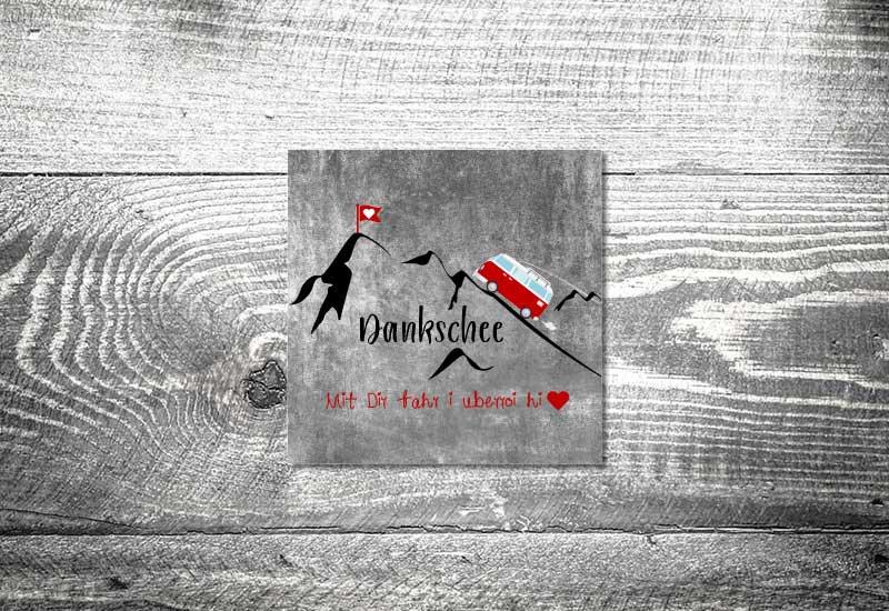 kartlerei bayrische dankeskarten hochzeit leporello klappkarte foto rosi - Foto Rosi Retro Fotobox
