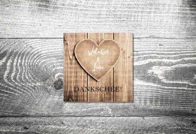 kartlerei bayrische dankeskarten hochzeit leporello klappkarte herzl 400x275 - Dankeskarte mit Fotostreifen