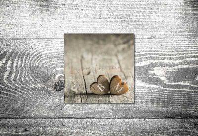 kartlerei bayrische dankeskarten hochzeit leporello klappkarte zwoa herzerl 400x275 - Dankeskarte mit Fotostreifen